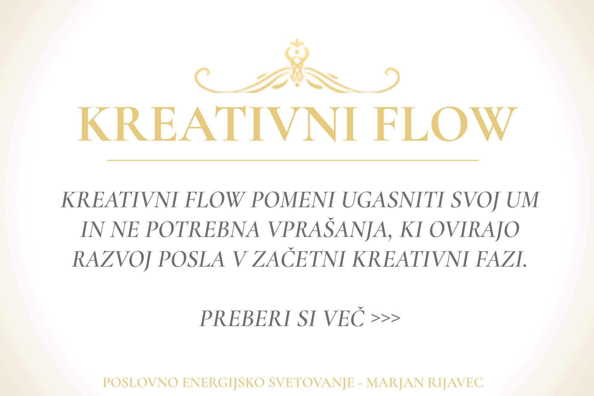 Kreativni flow